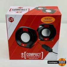 Trust Trust 22999 Compact Speakerset Laptop en PC Zwart/Rood | NIEUW