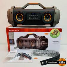 Caliber Caliber HBB460BT Portable Boomblaster | Bluetooth, USB en AUX | COMPLEET IN DOOS | nota (23-07-2020)