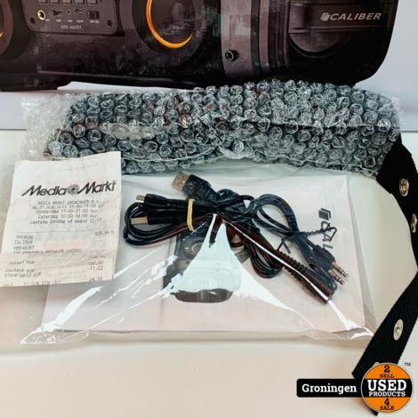 Caliber HBB460BT Portable Boomblaster | Bluetooth, USB en AUX | COMPLEET IN DOOS | nota (23-07-2020)
