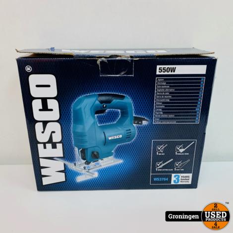 Wesco WS3764 Decoupeerzaag 550W | NETTE STAAT!