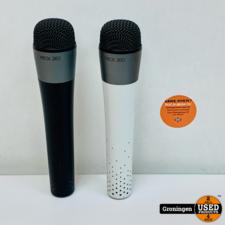 Microsoft [Xbox 360] Draadloze Microfoon / Keuze uit Wit/Zwart