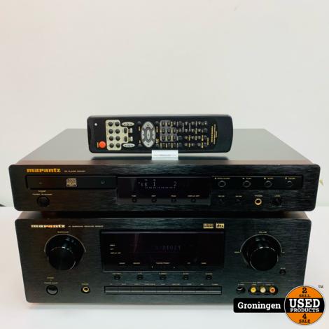Marantz SR5200 Surround Receiver + Marantz CD5001 CD-speler | incl. AB en kabels