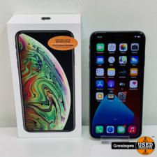 Apple Apple iPhone XS Max 64GB Space Gray MT502ZD/A NIEUWSTAAT! Accu 92% | incl. lader, boekjes en doos