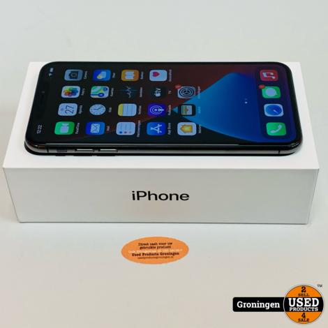 Apple iPhone XS Max 64GB Space Gray MT502ZD/A NIEUWSTAAT! Accu 92% | incl. lader, boekjes en doos