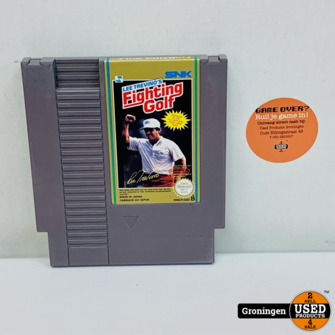 [NES] Lee Trevino's Fighting Golf | NES-F1-EEC