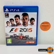 PlayStation 4 [PS4] F1 2015