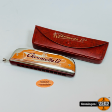 Hohner Hohner Chrometta 12 Mondharmonica 'C' | Made in Germany | incl. case