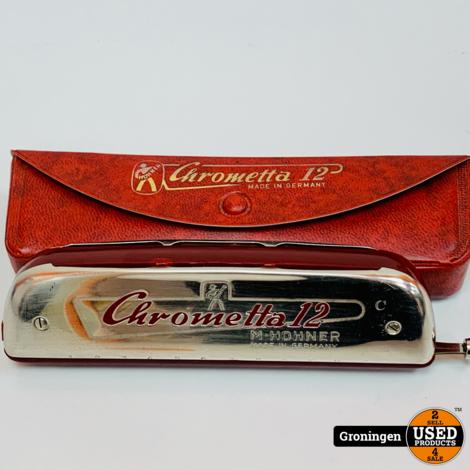 Hohner Chrometta 12 Mondharmonica 'C' | Made in Germany | incl. case