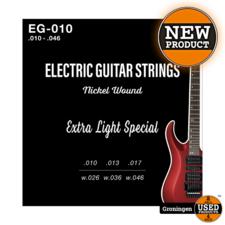 CLXmusic CLXmusic EG-010 Nickel Wound gitaarsnaren elektrische gitaar .010-.046   NIEUW