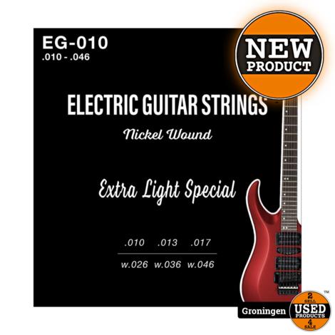 CLXmusic EG-010 Nickel Wound gitaarsnaren elektrische gitaar .010-.046   NIEUW