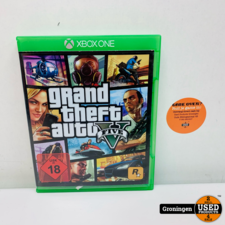 Xbox One [Xbox One] GTA 5 / Grand Theft Auto 5   Kaft Duits, game Engels
