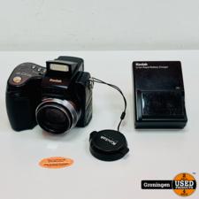 Kodak Kodak EasyShare Z7590 Camera   5MP • 10x optische zoom • 38-380mm, f/2.8-8   incl. 2 accu's en lader