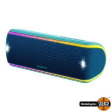 Sony Sony SRS-XB31 Blue   Stereo Bluetooth Speaker met EXTRA BASS-functie en speakerverlichting