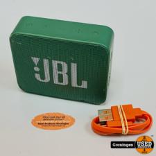 JBL JBL Go 2 Groen   Portable Bluetooth Speaker   incl. laadkabel