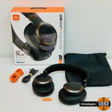 JBL JBL Live 650BT NC Black Noise Cancelling Headphone   NETTE STAAT! COMPLEET IN DOOS   nota (06-02-2020)