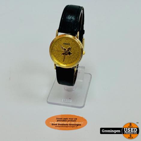 Tissot Pegasus C257K Ø30mm horloge | Lederen band | nieuwe batterij