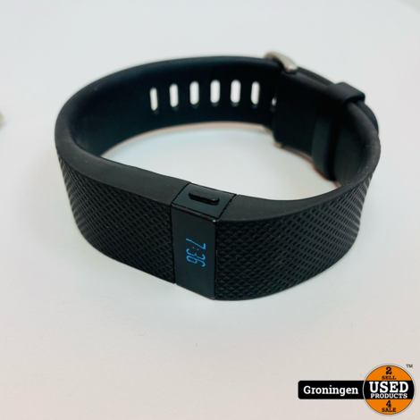 Fitbit Charge HR Activity Tracker   incl. laadkabel