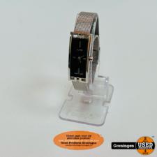 Alfex Alfex Swiss Made 5662-005 dameshorloge Quartz 16mm | Mineraalglas | Mesh bandje