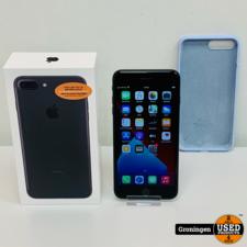 Apple Apple iPhone 7 Plus 32GB Black ZEER NETTE STAAT! | Accu 89% | incl. Cover, lader, boekjes, doos, nota (21-01-2020)