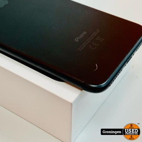 Apple iPhone 7 Plus 32GB Black ZEER NETTE STAAT!   Accu 89%   incl. Cover, lader, boekjes, doos, nota (21-01-2020)