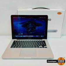 Apple Apple Macbook Pro 2012 13.3'' | Core i5 | 6GB RAM | 500GB SSD | macOS 10.15.7 Catalina | COMPLEET IN DOOS