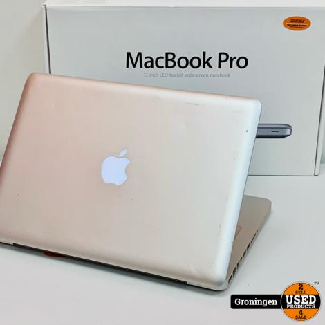 Apple Macbook Pro 2012 13.3'' | Core i5 | 6GB RAM | 500GB SSD | macOS 10.15.7 Catalina | COMPLEET IN DOOS