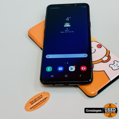 Samsung Galaxy S9+ / S9 Plus 64GB Midnight Black Dual-SIM | Android 10 | incl. cover