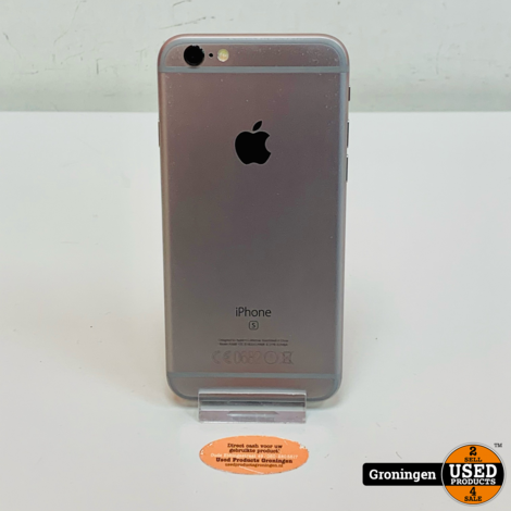 Apple iPhone 6s 64GB Space Gray | NIEUWE ACCU | iOS 14.4 | incl. lader