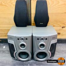 Panasonic Panasonic SB-AK45 Speakerset | 80 watt (160 watt max), 6 Ohm | incl. speakergrills
