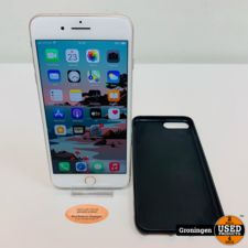 Apple Apple iPhone 8 Plus 256GB Silver NIEUWE ACCU! | iOS 14.4 | incl. Cover en lader