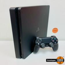 Sony PS4 [PS4] Sony PlayStation 4 Slim 1TB Zwart + Sony DualShock 4 controller en kabels