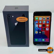 Apple Apple iPhone 8 64GB Space Gray | Accu 84% | iOS 14.4 | COMPLEET IN DOOS