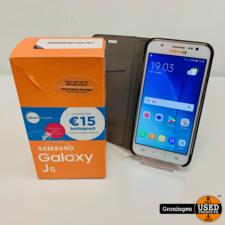 Samsung Samsung Galaxy J5 SM-J500FN Wit | Android 6.0.1 | incl. FlipCover en doos