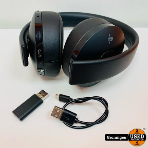 Sony PS4 Wireless Headset Gold Edition   incl. Dongle en laadkabel
