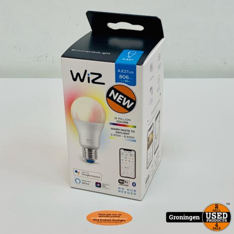 WiZ E27 Ledlamp Gekleurd en Wit Licht   NIEUW!