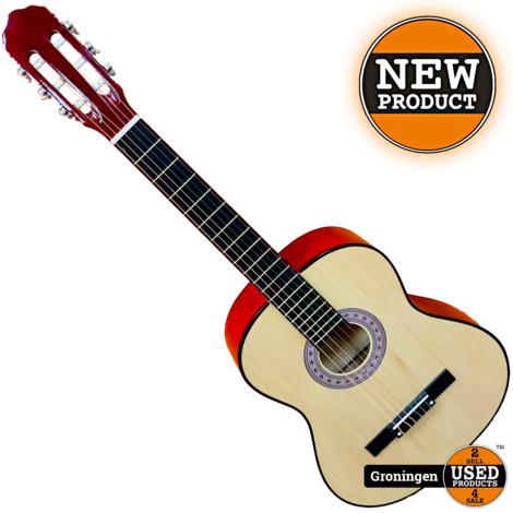 CLXmusic Caldez 44 Klassieke gitaar 4/4 Naturel | NIEUW
