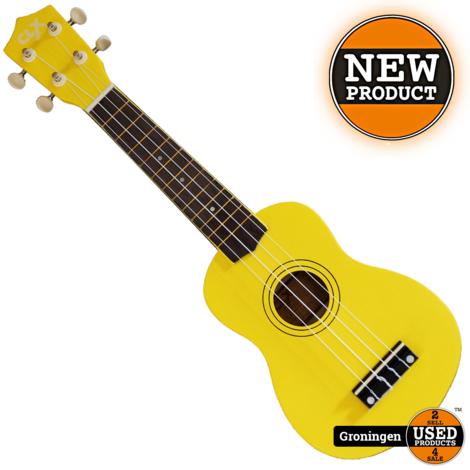 CLXmusic Ukelele Calista 21 Yellow   NIEUW