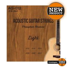 CLXmusic CLXmusic AG-012 Phosphor Bronze gitaarsnaren western/folk gitaar .012-.053   NIEUW