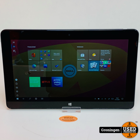 Dell Venue 11 Pro 5130 + Folio hoes en Backcover | 10.8'' Full HD Touch | Atom Z3770 Quad | 2GB | 64GB | Win 10 Pro