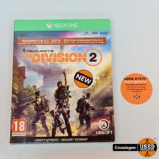 Microsoft [Xbox One] The Division 2 - Washington D.C. Edition   NIEUW/GESEALD