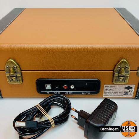 Auna Jerry Lee Retro Platenspeler met USB 10027042