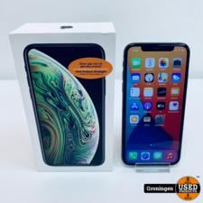 Apple Apple iPhone XS 64GB Space Gray NETTE STAAT! | Accu 85% | COMPLEET IN DOOS