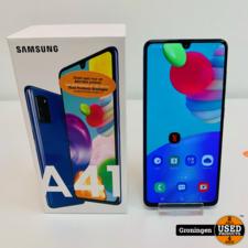 Samsung Samsung Galaxy A41 64GB Prism Crush Blue | Android 10 | incl. accessoires en doos