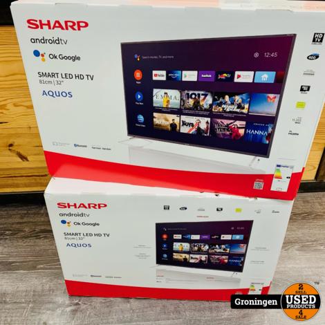 Sharp 32BI2EA Smart LED TV 81cm / 32''   Android TV   3x HDMI   NIEUW