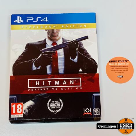 [PS4] Hitman Steelbook Edition