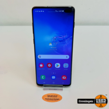 Samsung Samsung Galaxy S10+ 128GB G975 Blue   Lichte schermschade   Android 11