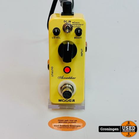 Mooer Acoustikar Acoustic Simulator effectpedaal