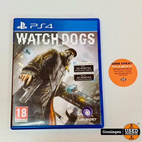 [PS4] Watch Dogs