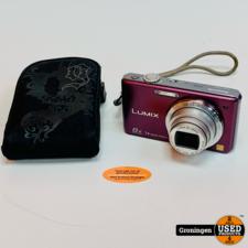 Panasonic Panasonic Lumix DMC-FS30 Paars   14,1MP   8x optische zoom   incl. hoesje