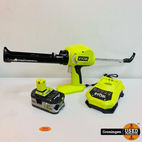 Ryobi One+ kitpistool 18V CCG-1801-MHG   incl. 18V/5.0Ah accu en lader